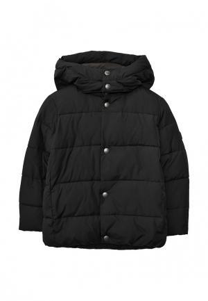 Куртка утепленная Gap. Цвет: черный