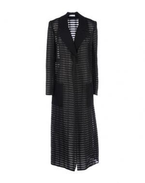 Легкое пальто BARBARA CASASOLA. Цвет: черный