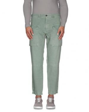 Повседневные брюки MONOCROM. Цвет: зеленый-милитари