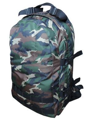 Рюкзак DESANT 27Л., OXFORD 600D, ЦВ. КАМУФЛЯЖ (DES27B) Campland. Цвет: зеленый, коричневый, хаки