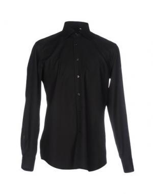 Pубашка ZANETTI. Цвет: черный