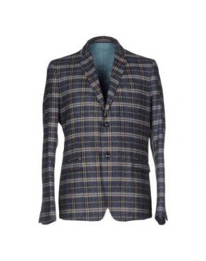 Пиджак JULIAN KEEN. Цвет: грифельно-синий