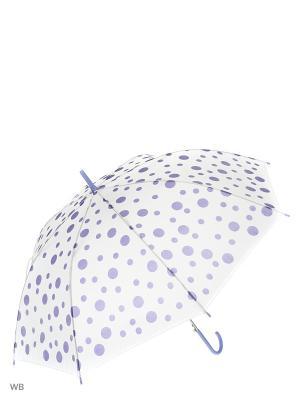 Зонт Modis. Цвет: белый, фиолетовый
