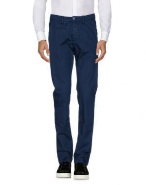 Повседневные брюки UNIFORM. Цвет: синий