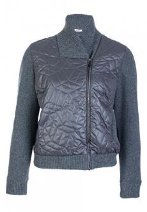 Куртка BRUNO MANETTI. Цвет: серый