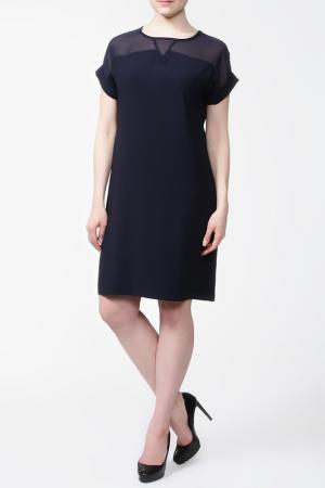 Платье First Orme. Цвет: темно-синий