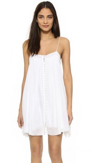 Платье YFB Clothing Bevy Young Fabulous & Broke. Цвет: белый