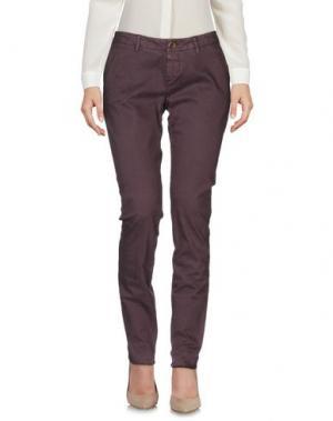Повседневные брюки MAISON CLOCHARD. Цвет: светло-коричневый