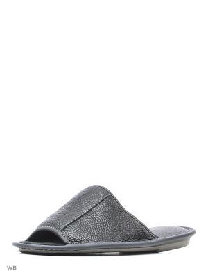 Тапочки PANTOLETTI. Цвет: черный