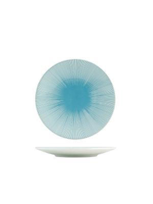 Набор тарелок десертных ЛАЗУРЬ H&H. Цвет: синий
