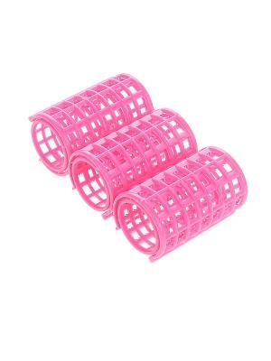 Бигуди (3 шт.) Migura. Цвет: розовый