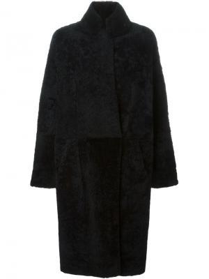 Двухстороннее пальто 32 Paradis Sprung Frères. Цвет: коричневый