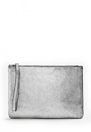 Косметичка Mango. Цвет: серебряный