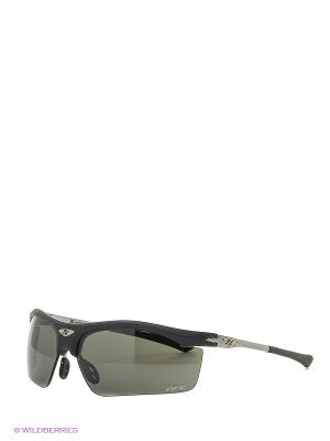 Солнцезащитные очки NRC. Цвет: темно-серый