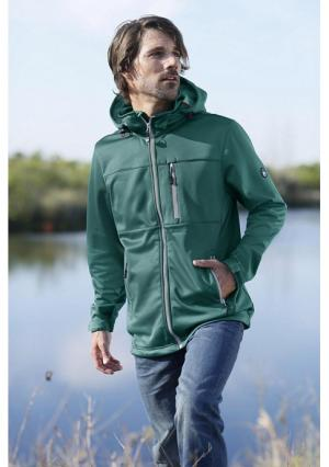 Куртка Softshell POLARINO. Цвет: темно-зеленый