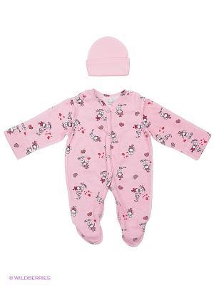 Комплект одежды ФЭСТ. Цвет: розовый, красный