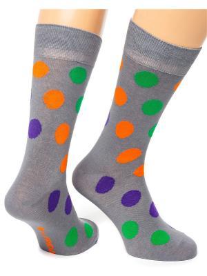 Дизайнерские Носки St.Friday Socks. Цвет: серый