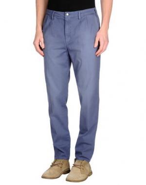 Повседневные брюки MONOCROM. Цвет: темно-фиолетовый