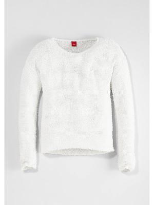 Пуловер S.OLIVER. Цвет: белый