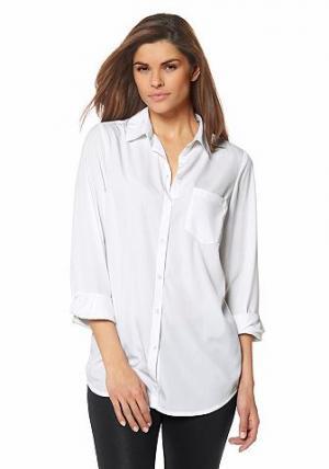 Блузка CHILLYTIME. Цвет: белый