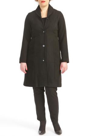 Пальто KOKOMARINA. Цвет: черный