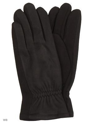 Перчатки Palantini. Цвет: черный