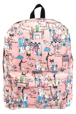 Рюкзак Модница Creative. Цвет: розовый