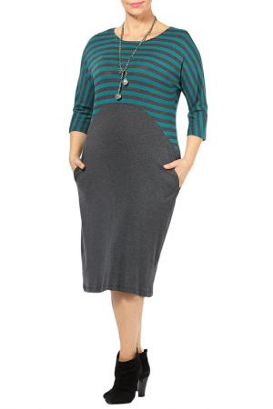 DRESS Zedd Plus. Цвет: green, dark grey