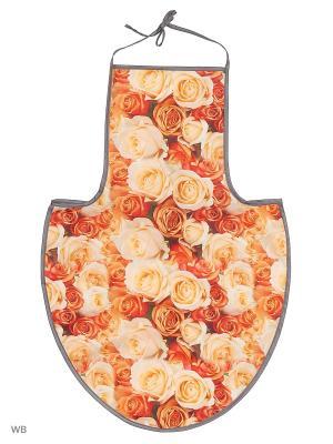 Фартук кухонный Dorothys Home РейнБоу Dorothy's. Цвет: светло-оранжевый, розовый