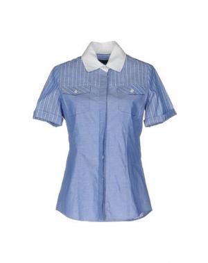 Pубашка FABRIZIO LENZI. Цвет: синий