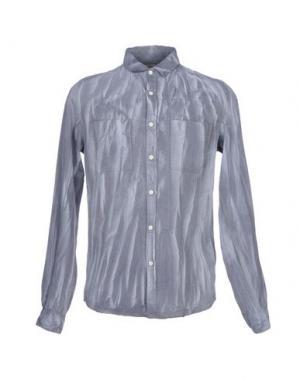 Джинсовая рубашка CALVIN KLEIN JEANS. Цвет: серый