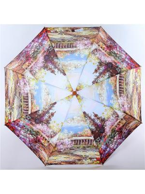 Зонт Magic Rain. Цвет: темно-серый, голубой