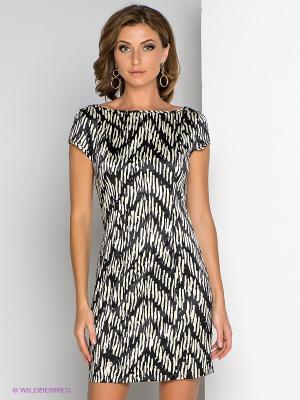 Платье Allezye. Цвет: черный, молочный