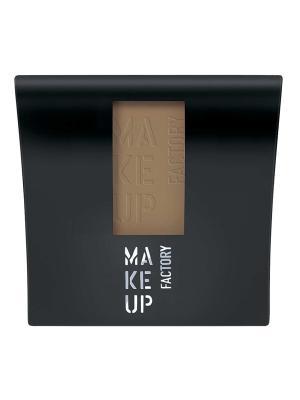 Румяна матовые компактные Mat Blusher №46, оттенок мягкий коричневый Make up factory. Цвет: светло-коричневый