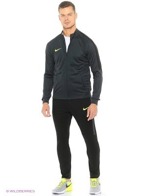 Костюм M NK DRY SQD TRK SUIT K Nike. Цвет: серо-зеленый