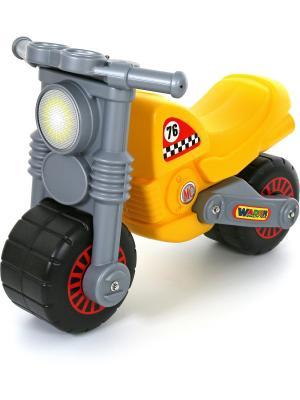 Мотоцикл Моторбайк Полесье.. Цвет: черный, желтый