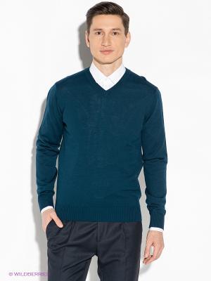 Пуловер Gerry Ross. Цвет: морская волна