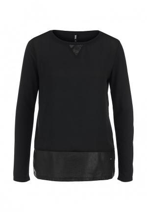 Блуза Troll. Цвет: черный