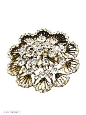 Брошь Lovely Jewelry. Цвет: белый
