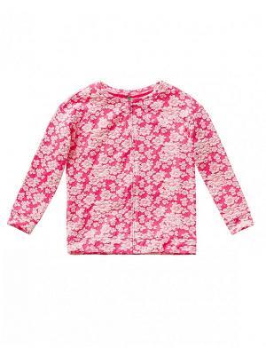Куртка United Colors of Benetton. Цвет: лиловый, бледно-розовый, розовый