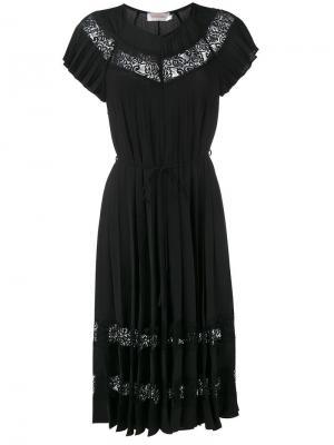 Платье Winsome Sunray Zimmermann. Цвет: чёрный