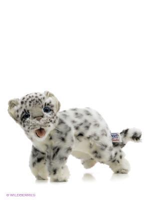 Детеныш снежного барса, 30 см Hansa. Цвет: серый