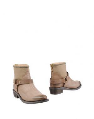 Полусапоги и высокие ботинки TWIN-SET Simona Barbieri. Цвет: голубиный серый