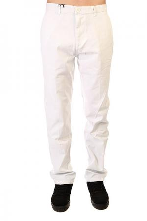 Штаны прямые  Chino Pants White Urban Classics. Цвет: белый