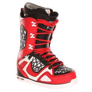 Ботинки для сноуборда  Z Tm-two Red/Black Thirty Two. Цвет: красный,черный,белый