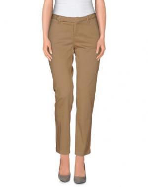 Повседневные брюки D-21. Цвет: хаки