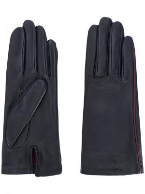 Перчатки New Kate Agnelle. Цвет: синий