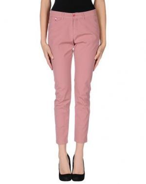 Повседневные брюки KUBERA 108. Цвет: пастельно-розовый