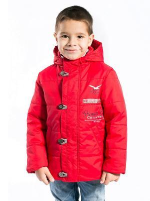 Куртка Богдан Аксарт. Цвет: красный