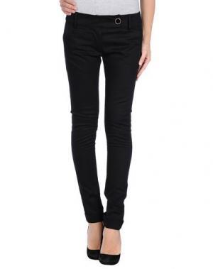 Повседневные брюки OLLY DOO. Цвет: черный